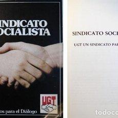 Libros de segunda mano: UGT: UN SINDICATO PARA TODOS. 1977.. Lote 140084954