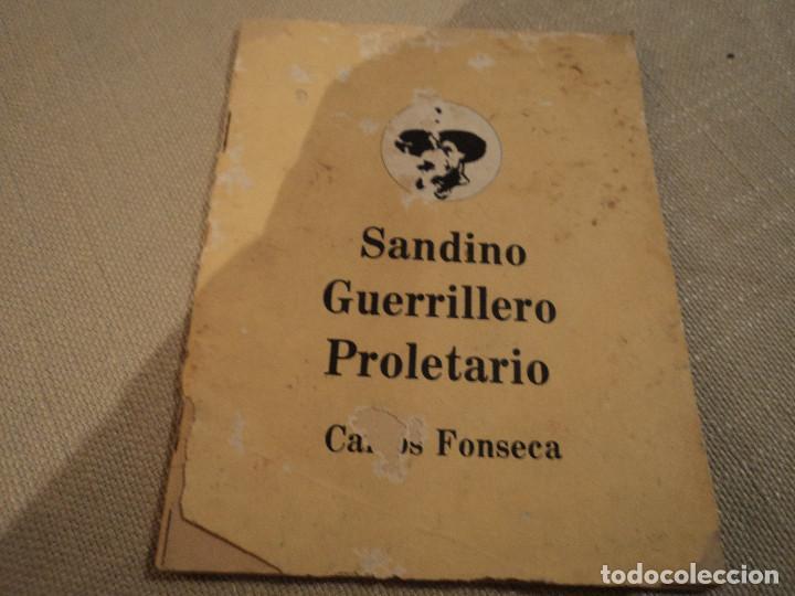 SANDINO GUERRILLERO PROLETARIO (CARLOS FONSECA) ED. FRENTE SANDINISTA L. N. (Libros de Segunda Mano - Pensamiento - Política)