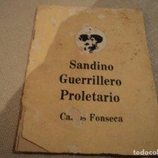 Libros de segunda mano - SANDINO GUERRILLERO PROLETARIO (CARLOS FONSECA) ed. frente sandinista l. n. - 140304854