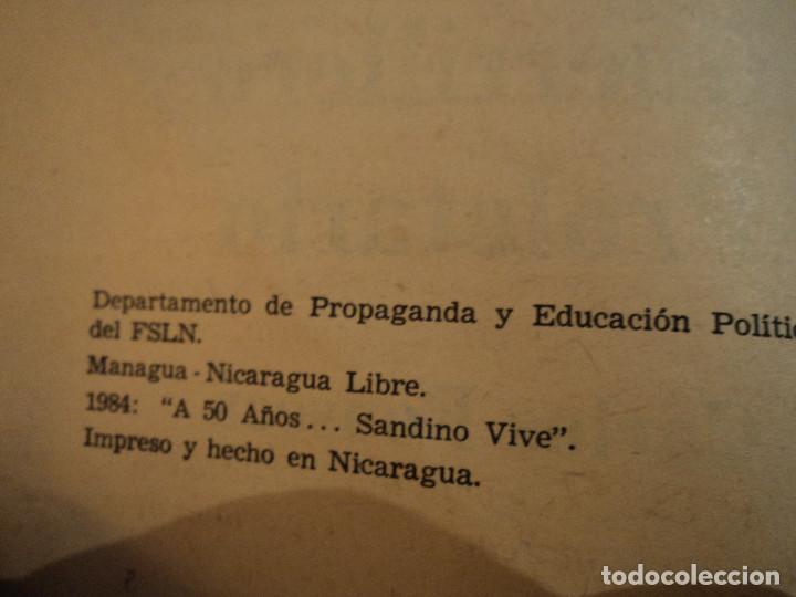 Libros de segunda mano: SANDINO GUERRILLERO PROLETARIO (CARLOS FONSECA) ed. frente sandinista l. n. - Foto 4 - 140304854
