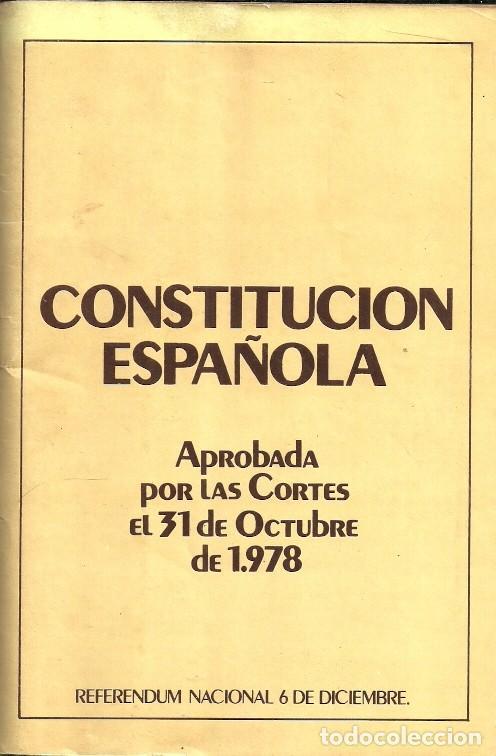 Libros de segunda mano: CONSTITUCIÓN ESPAÑOLA / CONSTITUCIÓ ESPANYOLA - 1978 - Foto 3 - 140434758