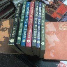 Libros de segunda mano: ERNESTO CHE GUEVARA. ESCRITOS Y DISCURSOS. 9 VOLÚMENES. Lote 140470742