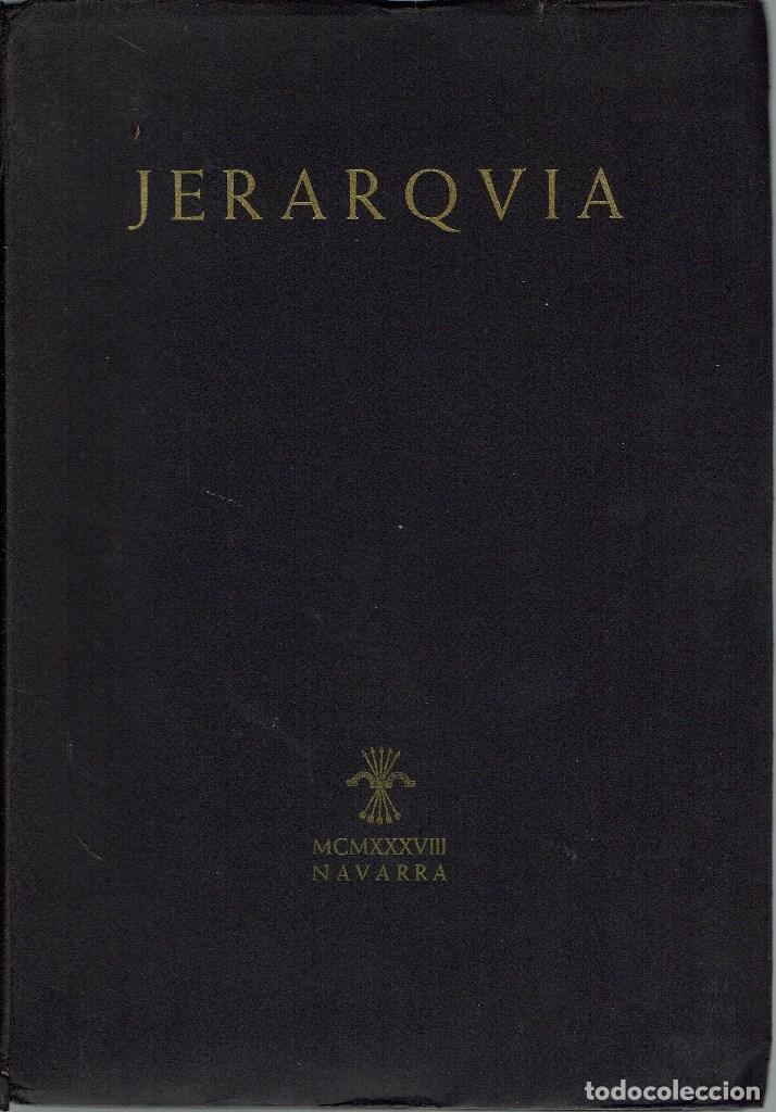 Jerarquía. la revista negra de la falange. núme - Sold through Direct Sale  - 140594078