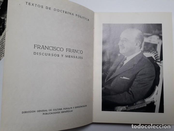 DISCURSOS Y MENSAJES DEL JEFE DEL ESTADO 1968-1970. FRANCO, FRANQUISMO (Libros de Segunda Mano - Pensamiento - Política)