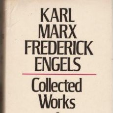 Libros de segunda mano: MARX-ENGELS COLLECTED WORKS 1845-1847 - VOLUME 5 MARX, KARL & ENGELS, FREDERICK 1976 (LONDON). Lote 141171246