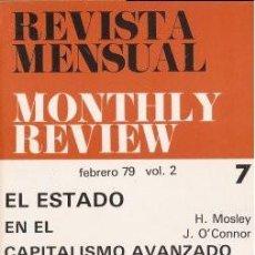 Libros de segunda mano: MONTHLY REVIEW (FEBRERO 79) VVAA 1979 (BARCELONA). Lote 141171582