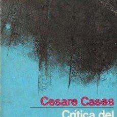 Libros de segunda mano: CRÍTICA DEL MARXISMO LIBERAL - CASES, CESARE 1971 (BARCELONA). Lote 142385818