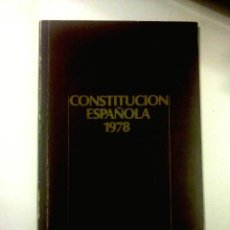 Libros de segunda mano: CONSTITUCION ESPAÑOLA 1978.. Lote 142479986