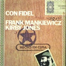Libros de segunda mano: MANKIEWICZ / JONES : CON FIDEL (EUROS, 1976). Lote 142877418
