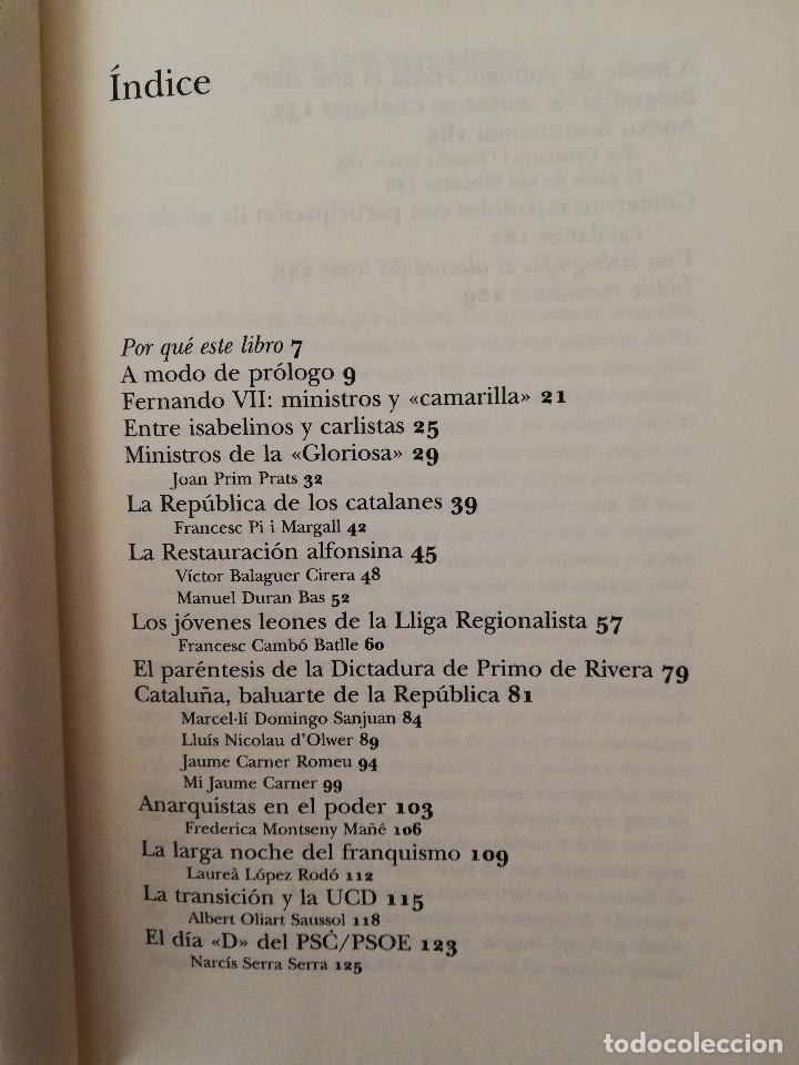 Libros de segunda mano: MINISTROS CATALANES EN MADRID (JOSEP MARIA AINAUD DE LASARTE) PLANETA - Foto 3 - 142957826