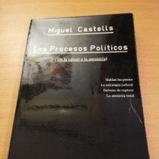 Libros de segunda mano: LOS PROCESOS POLITICOS (DE LA CARCEL A LA AMNISTIA) MIGUEL CASTELLS. Lote 158399325