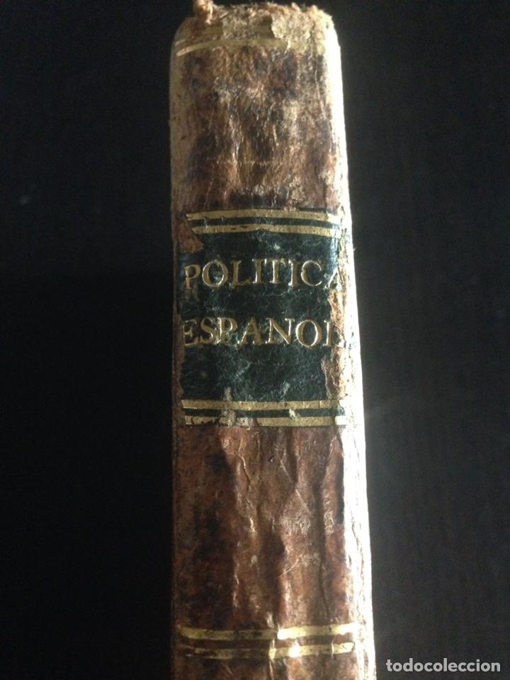 Libros de segunda mano: ANTIGUO LIBRO DE POLÍTICA ESPAÑOLA DE LOS AÑOS 1700 - Foto 6 - 143956754