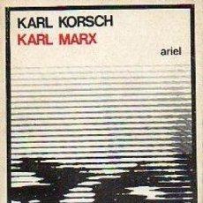 Libros de segunda mano: KARL MARX - KARL KORSCH. Lote 144038566
