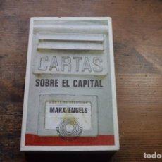 Libros de segunda mano: CARTAS SOBRE EL CAPITAL, MARX, ENGELS, LAIA, 1974. Lote 144430074