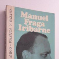 Libros de segunda mano: EL DESARROLLO POLÍTICO - FRAGA IRIBARNE, MANUEL. Lote 145061060