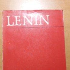 Libros de segunda mano: LENIN. EL IMPERIALISMO, FASE SUPERIOR DEL CAPITALISMO.. Lote 145236424