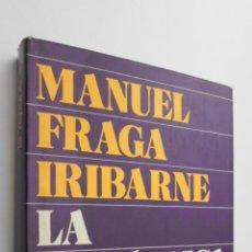 Libros de segunda mano: LA REPÚBLICA - FRAGA IRIBARNE, MANUEL. Lote 145462072