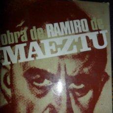 Libros de segunda mano: OBRA DE RAMIRO DE MAEZTU, EDITORA NACIONAL. Lote 148208262