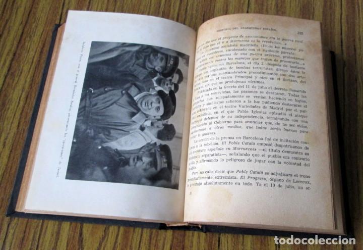 Libros de segunda mano: HISTORIA DEL ANARQUISMO ESPAÑOL - Por Eduardo Comin Colomer - Tomó I 1956 - Foto 3 - 149400838