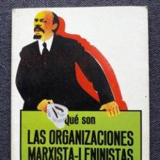 Gebrauchte Bücher - Las Organizaciones Marxista-Leninistas. Carlos Trias. - 150266910