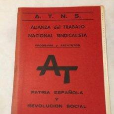 Libros de segunda mano - Alianza Nacional del Trabajo Sindicalista - 150474830