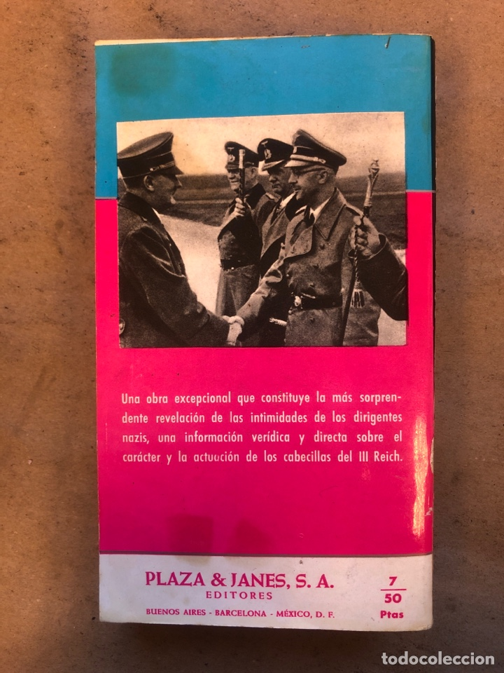 Libros de segunda mano: JOSEPH GOEBBELS, DIARIO. PLAZA & JANÉS EDITORES 1960. 543 PÁGINAS. - Foto 7 - 150526726