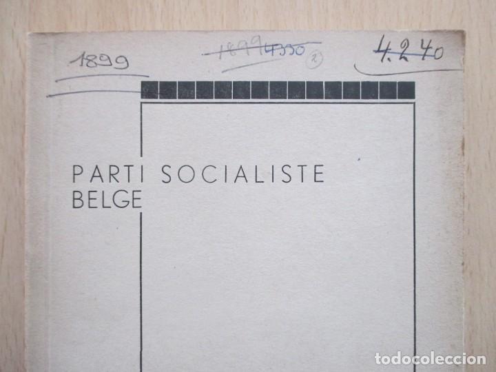 Libros de segunda mano: Rapports présentés au Congrès des 5 et 6 novembre 1949 (Parti Socialiste Belge) - Foto 2 - 150986150