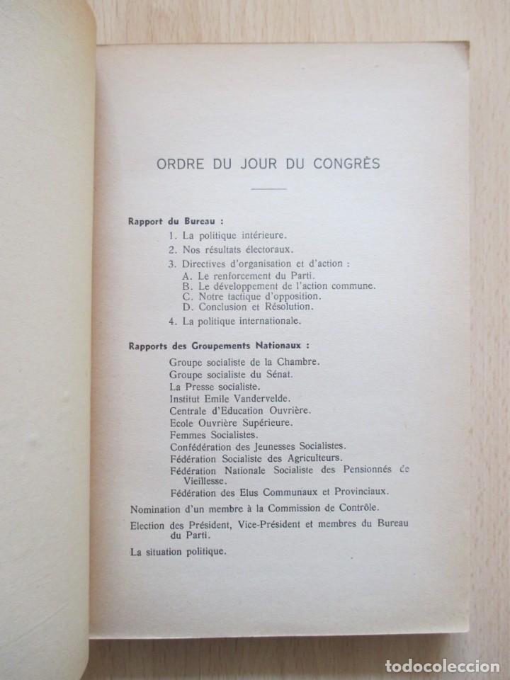 Libros de segunda mano: Rapports présentés au Congrès des 5 et 6 novembre 1949 (Parti Socialiste Belge) - Foto 6 - 150986150