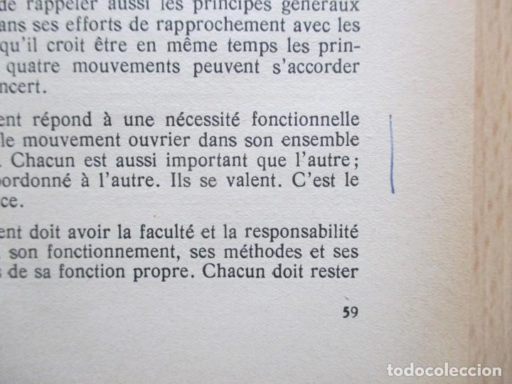 Libros de segunda mano: Rapports présentés au Congrès des 5 et 6 novembre 1949 (Parti Socialiste Belge) - Foto 9 - 150986150