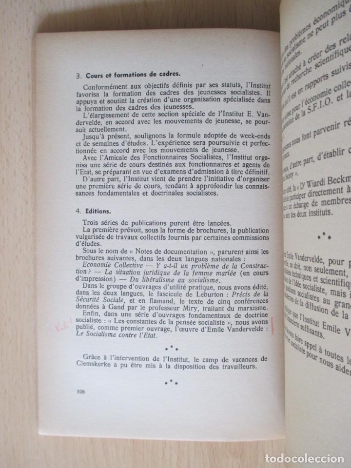 Libros de segunda mano: Rapports présentés au Congrès des 5 et 6 novembre 1949 (Parti Socialiste Belge) - Foto 10 - 150986150