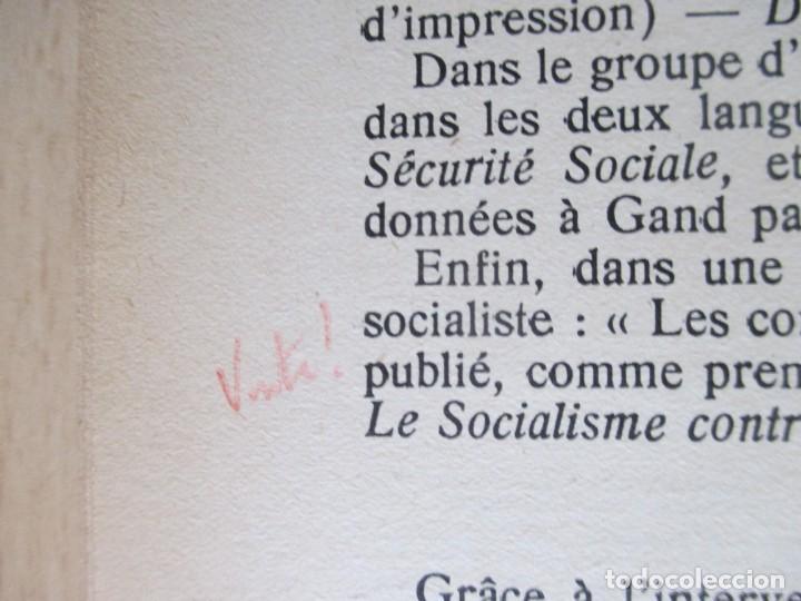 Libros de segunda mano: Rapports présentés au Congrès des 5 et 6 novembre 1949 (Parti Socialiste Belge) - Foto 11 - 150986150