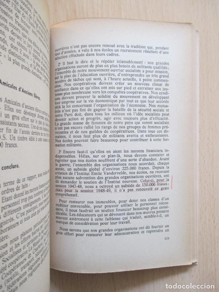 Libros de segunda mano: Rapports présentés au Congrès des 5 et 6 novembre 1949 (Parti Socialiste Belge) - Foto 14 - 150986150