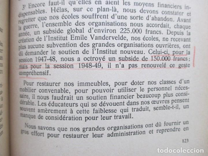 Libros de segunda mano: Rapports présentés au Congrès des 5 et 6 novembre 1949 (Parti Socialiste Belge) - Foto 15 - 150986150