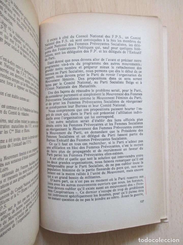Libros de segunda mano: Rapports présentés au Congrès des 5 et 6 novembre 1949 (Parti Socialiste Belge) - Foto 16 - 150986150