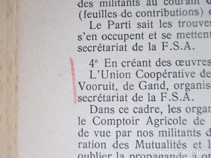 Libros de segunda mano: Rapports présentés au Congrès des 5 et 6 novembre 1949 (Parti Socialiste Belge) - Foto 19 - 150986150