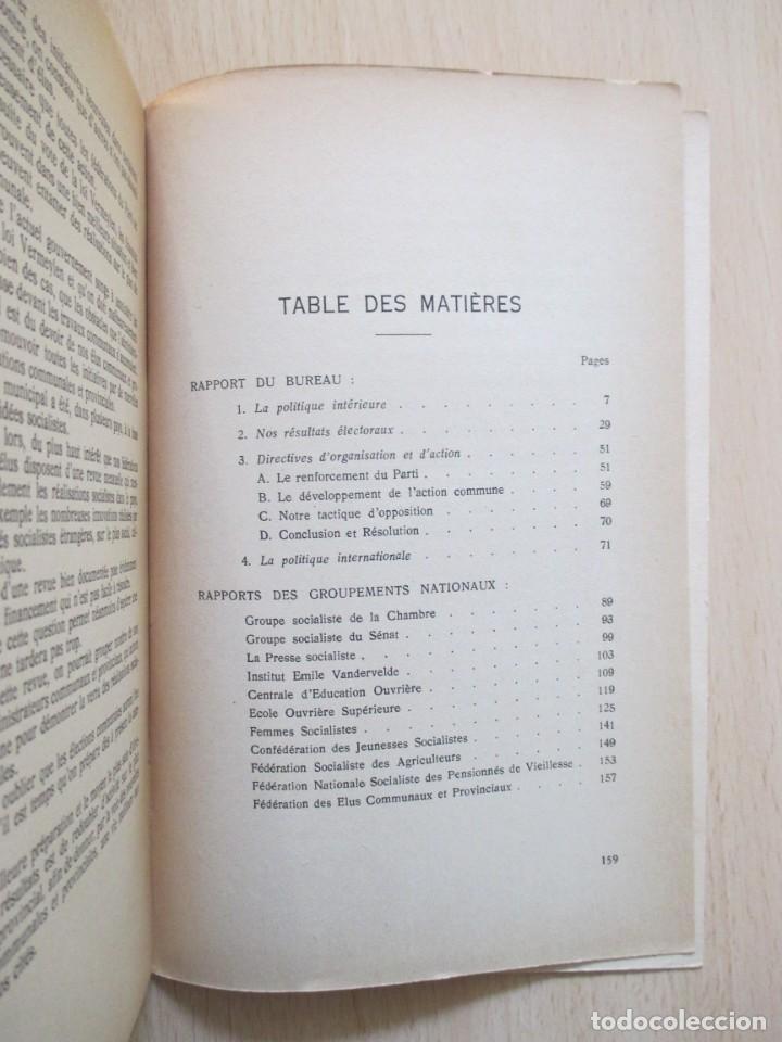 Libros de segunda mano: Rapports présentés au Congrès des 5 et 6 novembre 1949 (Parti Socialiste Belge) - Foto 20 - 150986150