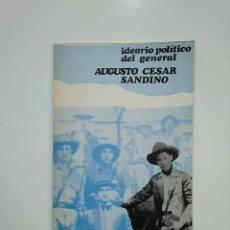 Libros de segunda mano - IDEARIO POLÍTICO DEL GENERAL AUGUSTO CÉSAR SANDINO -. TDK362 - 151058830
