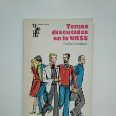 Libros de segunda mano - TEMAS DISCUTIDOS EN LA URSS. - VLADÍMIR KOKASHINSKI. TDK362 - 151059990