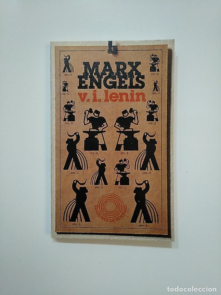 KARL MARX. FRIEDRICH ENGELS. V.I. LENIN. EDICIONES DE BOLSILLO Nº 379. TDK363 (Libros de Segunda Mano - Pensamiento - Política)