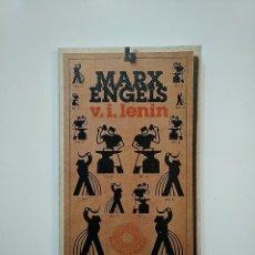 Libros de segunda mano: KARL MARX. FRIEDRICH ENGELS. V.I. LENIN. EDICIONES DE BOLSILLO Nº 379. TDK363. Lote 151194362