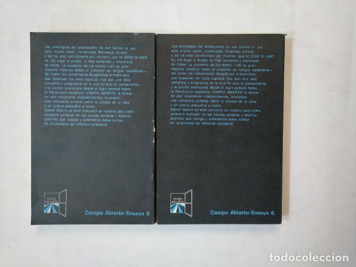 Libros de segunda mano: NI DIOS NI AMO. 2 tomos. VOLUMEN I Y II. - ANTOLOGIA DEL ANARQUISMO. - DANIEL GUERIN. TDK368 - Foto 2 - 151836194