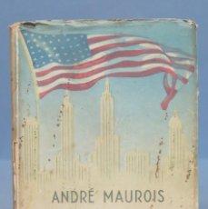 Libros de segunda mano: LA SALVACION DE NORTEAMERICA. ANDRE MAUROIS. Lote 152429650