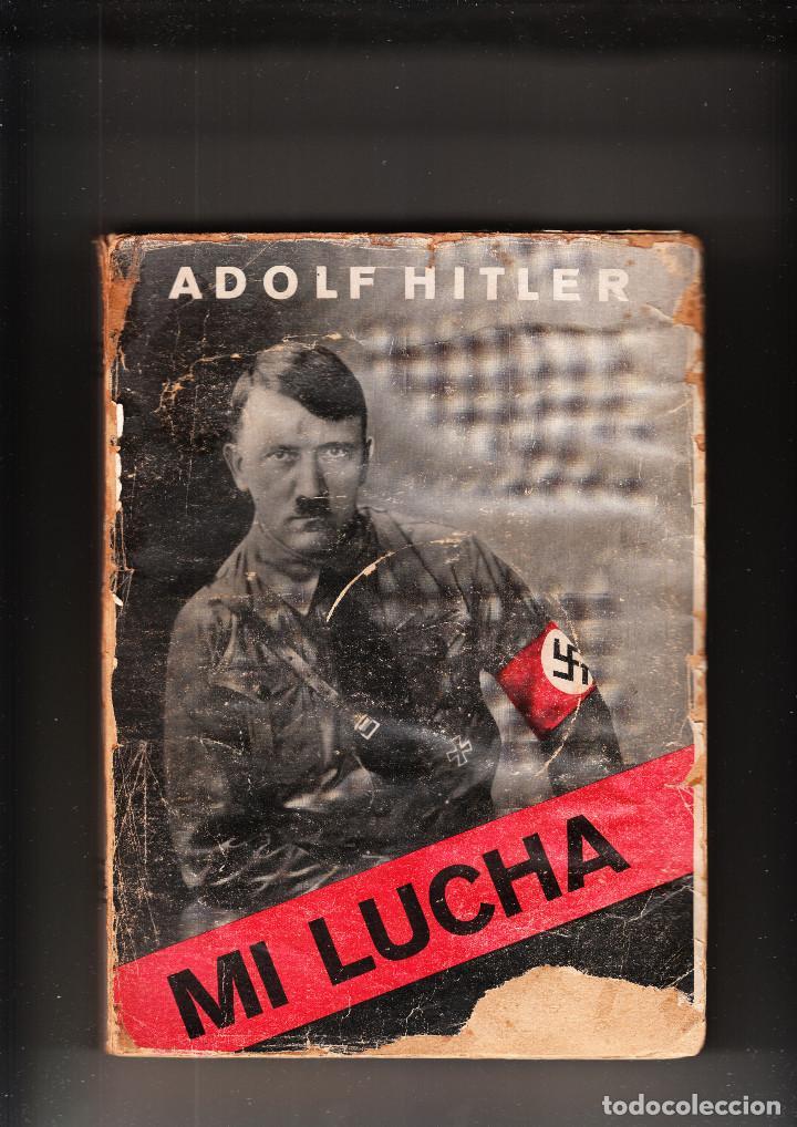 MI LUCHA ADOLF HITLER ÁVILA 1937 (Libros de Segunda Mano - Pensamiento - Política)