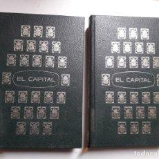Libros de segunda mano: EL CAPITAL. CARLOS MAX. EDITORIAL EDAF 1970. 2 TOMOS. OBRA COMPLETA. Lote 155776894
