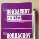 Libros de segunda mano: RECEPCIÓN DE MIJAÍL GORBACHOV A GEORGE SCHULTZ FOLLETO COMUNISMO URSS USA EEUU. Lote 155947462