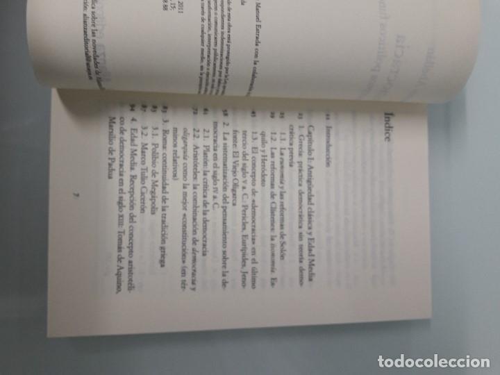 Libros de segunda mano: DEMOCRACIA - Conceptos políticos fundamentales - J. Abellán - Alianza Editorial CS 9 - 2011 - Foto 4 - 156034982