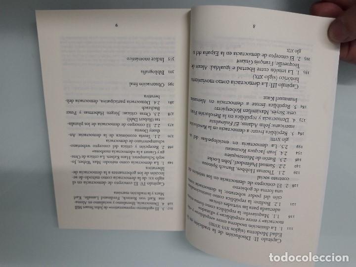 Libros de segunda mano: DEMOCRACIA - Conceptos políticos fundamentales - J. Abellán - Alianza Editorial CS 9 - 2011 - Foto 5 - 156034982