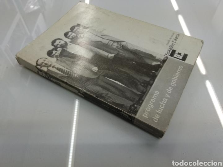 Libros de segunda mano: PROGRAMA DE LUCHA Y GOBIERNO EUSKADIKO EZKERRA Escision ETA Berri Mario Onaindia Partido Socialista - Foto 2 - 156270273