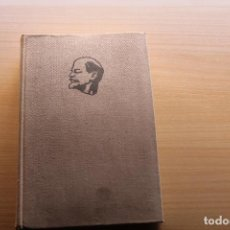 Libros de segunda mano: LENIN, OBRAS ESCOGIDAS 3, EDITORIAL PROGRESO. Lote 179386517