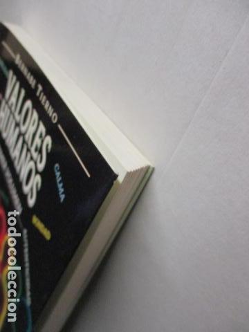 Libros de segunda mano: Valores Humanos - Primer Volumen - Bernabé Tierno - Taller de Editores - Foto 4 - 263106370